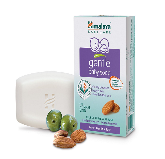 Himalaya Gentle Baby Soap With Almond 125 gm