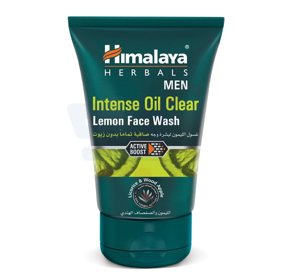 Himalaya Intense Oil Clear Lemon Face Wash 100 ML - NHS0351