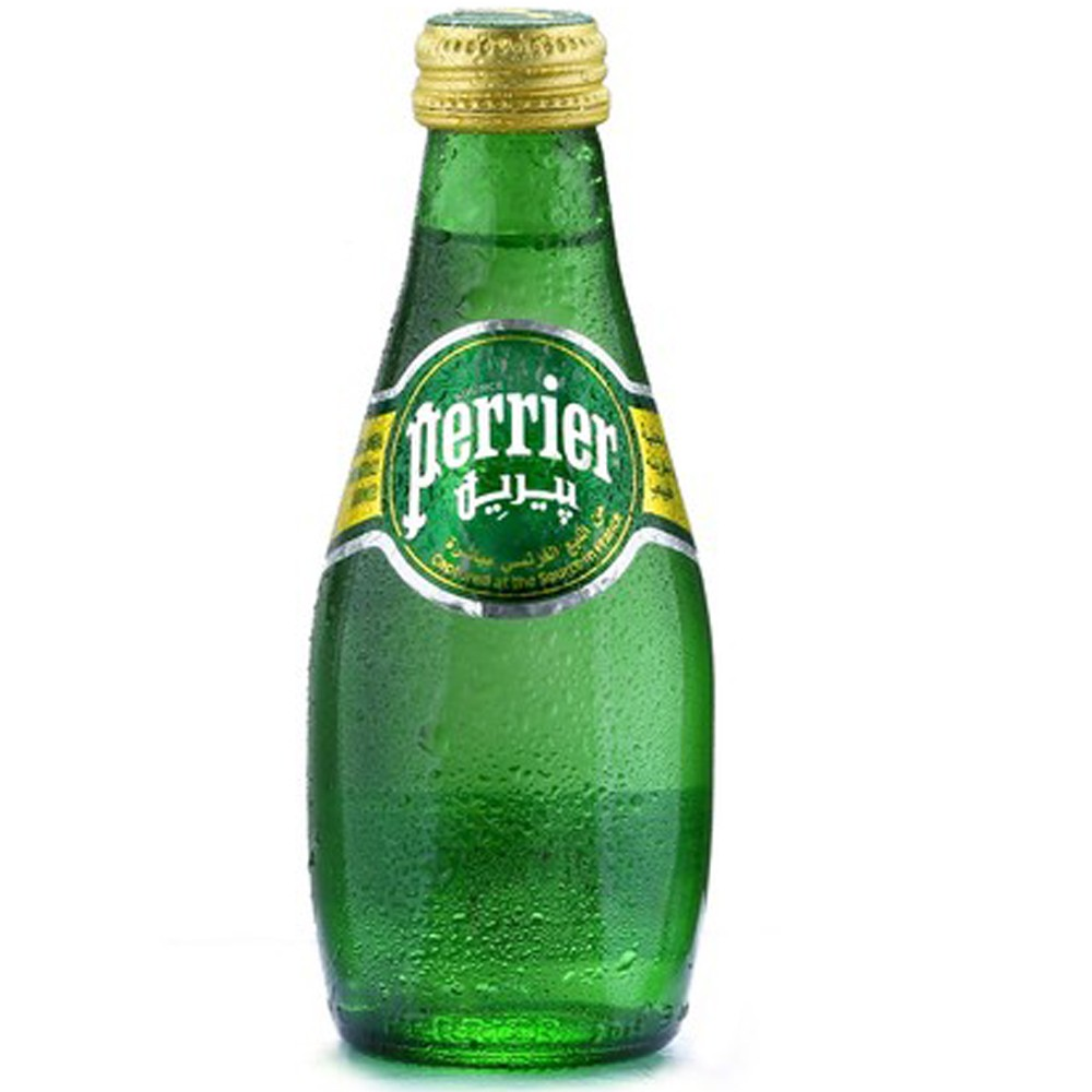 Perrier Sparkling Natural Mineral Rich Water 6 x 200ML At Special Offer