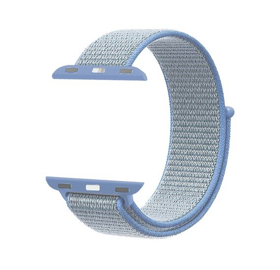 Promate Fibro-42  Sports Loop Band for Apple Watch 42mm/44mm, Light Blue