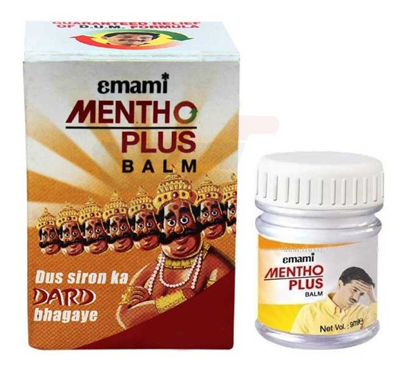 Emami Menthoplus Balm 30gm - 8065