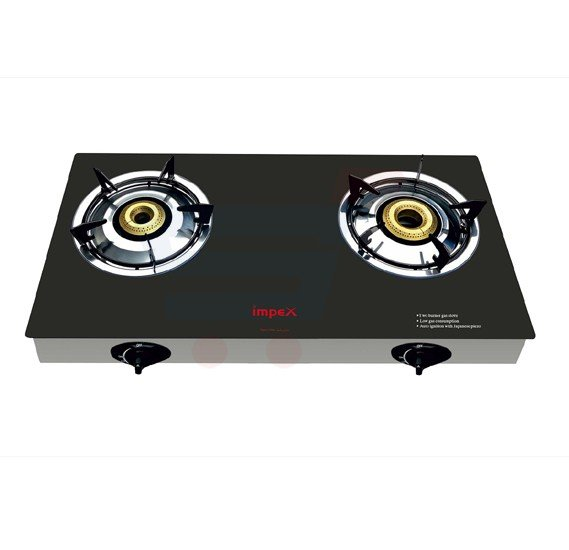 Impex Two Burner LPG Gas Stove - IGS 1212F