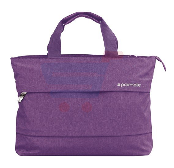 Promate Classic Design Handbag For 13-Inch Laptop Desire-LD Purple, With Water Resistance