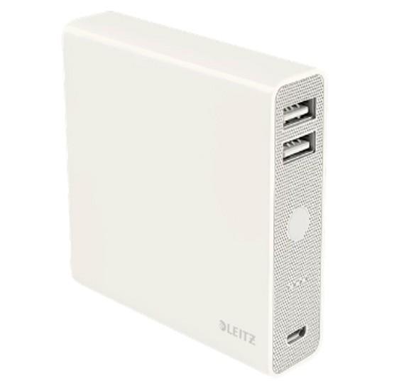 Leitz USB PowerBank Complete 12000mAh white, 6528-00-01