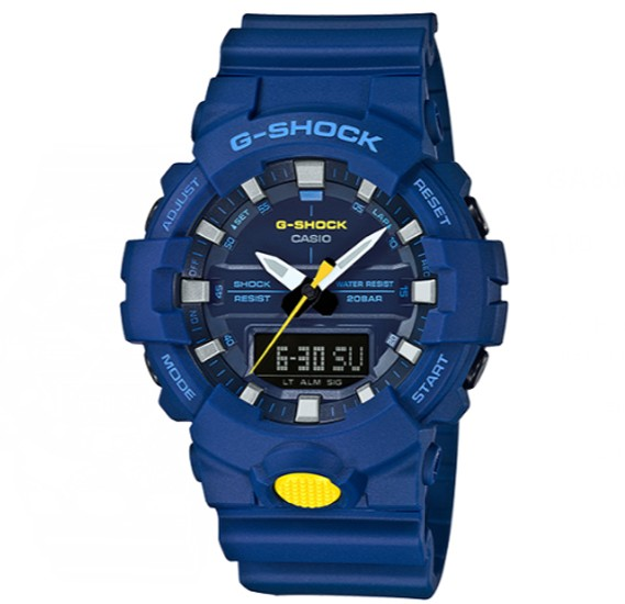 Casio G-shock Digital Analog Watch, GA-800SC-2ADR