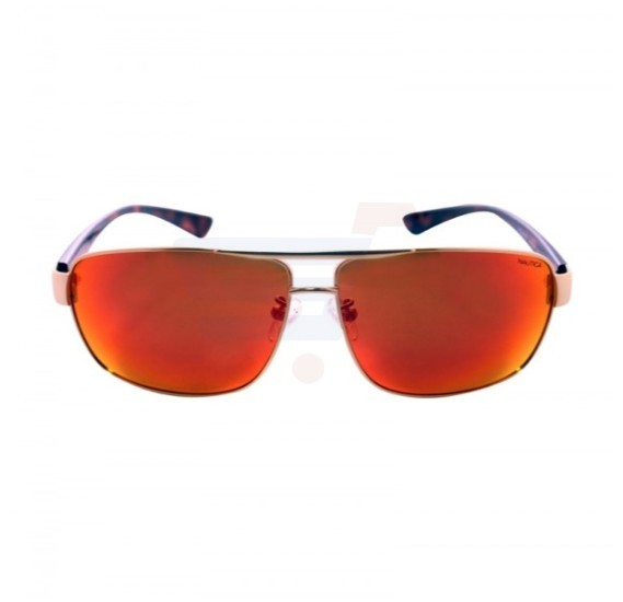 Nautica Square Gold Frame & Mirror Red Mirrored Sunglasses For Unisex - N4601SP-712