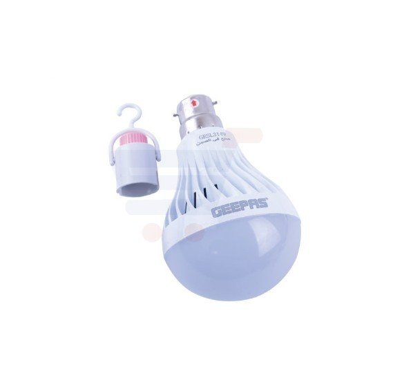 Geepas Rechargeable LED Bulb - GESL3149