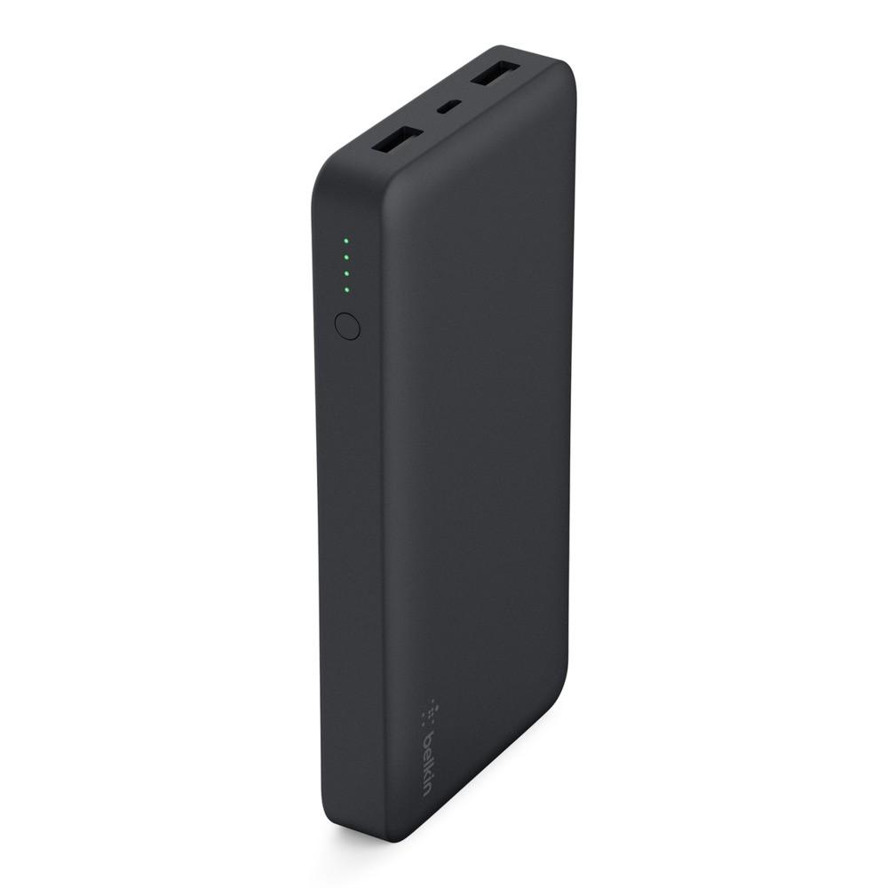 Belkin Power Pocket 15000Mah With 2 USB Ports, F7U021btBLK