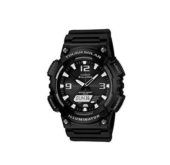 Casio Mens Resin Band Analog or Digital Watch AQ-S810W-1ADF