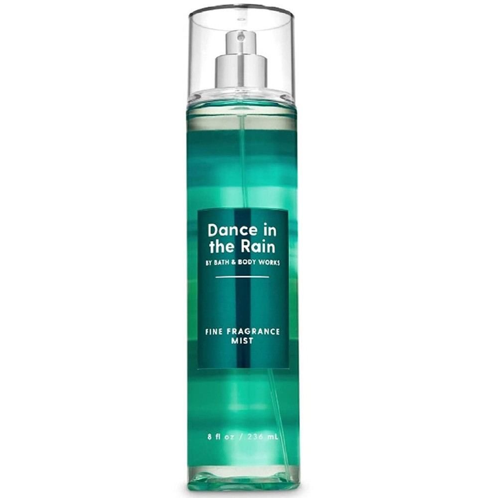 Bath and Body Works DANCE IN THE Rain Fresh Raindrops Fine Fragrance Mist 8 fl oz (2020 Limited Edition)