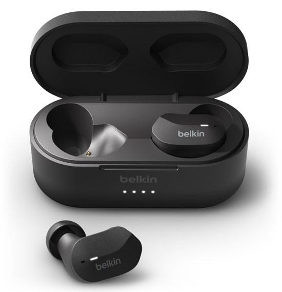 Belkin True Wireless Earbuds Black, AUC001btBK