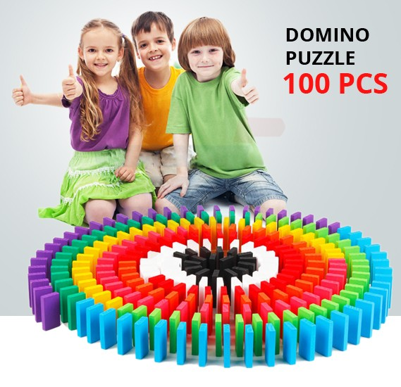 Domino Standard Competitive Puzzle 100 Pcs
