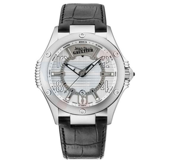 Jean Paul Gaultier Swiss Made Men Black Watch - JPG0102001