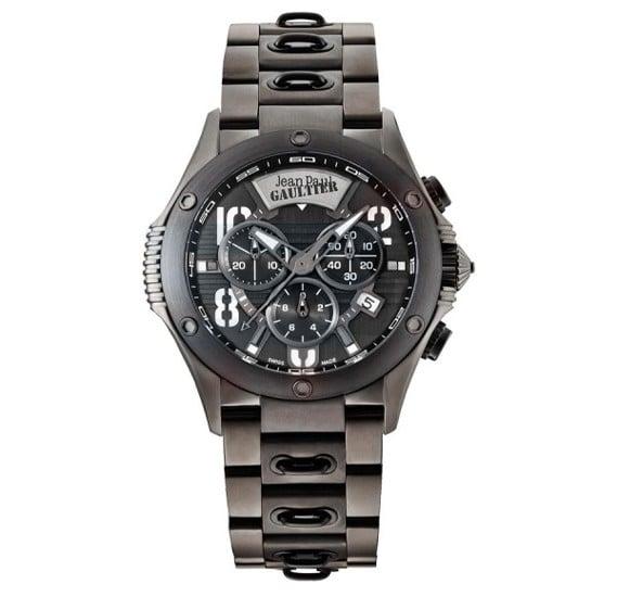 Jean Paul Gaultier Swiss Made  Men Black Watch - JPG0104010