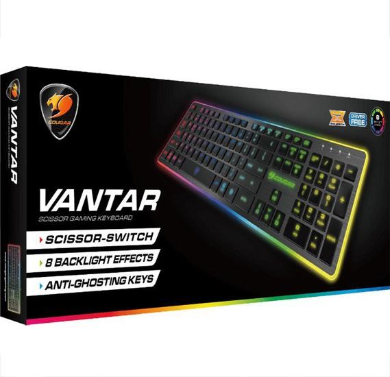 Couger 37VANXNMB.0002 Vantar Keyboard - Black