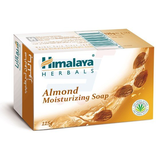 Himalaya Moist Almond Soap 125 GM - NHS0401