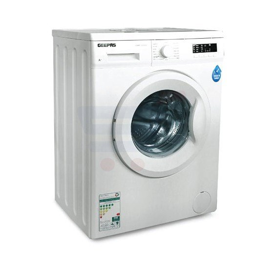Geepas Fully Automatic Front Load Washing Machine - GWMF7107STV