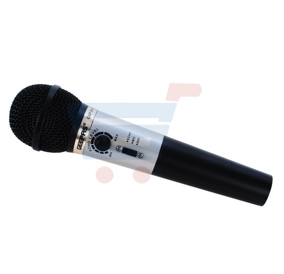 Buy Geepas Echo Wire Microphone Gmp3910e Online Oman Ourshopee Com Ob3404