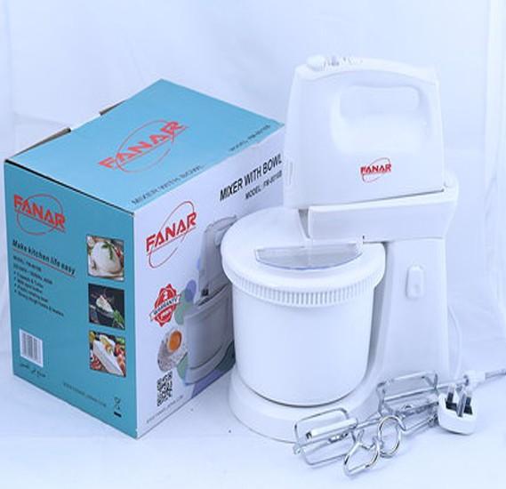 Fanar Mixer With Bowl-400W, FM-8016B