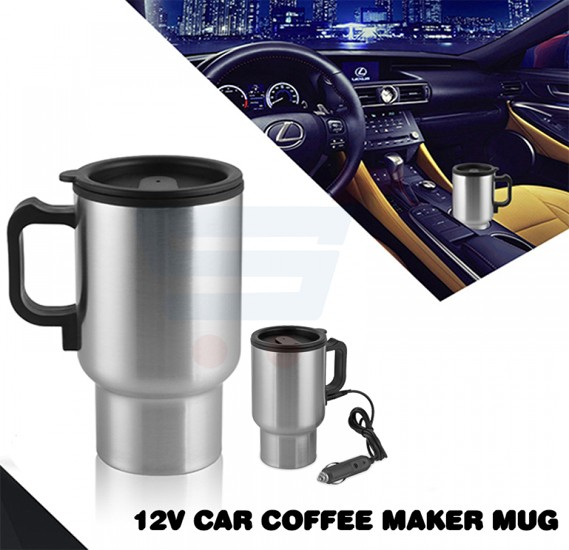 12V Car Coffee Maker Mug, 140Z