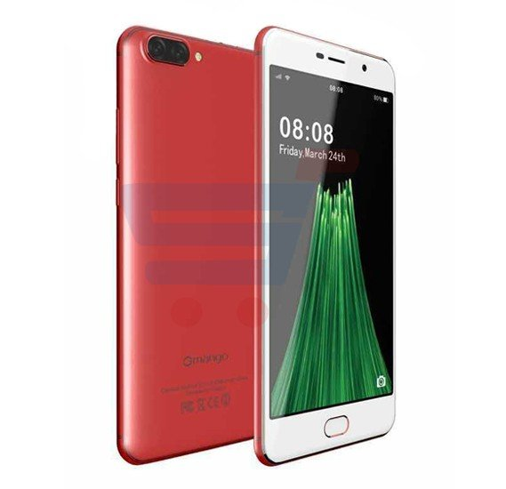 Gmango R11 Smartphone 4G LTE, Android 6.0, 5.5 Inch HD Display, 2GB RAM, 16GB Storage, Dual Camera, Dual Sim- Red