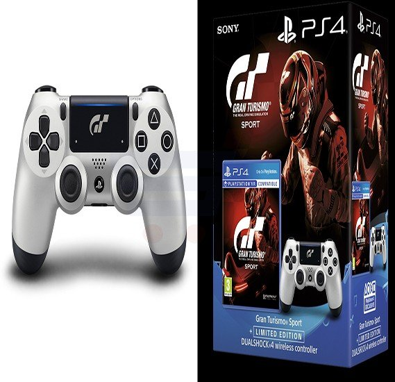 Buy Sony DualShock 4 Controller Gran Turismo Sport Limited Edition For PS4 Online Dubai UAE