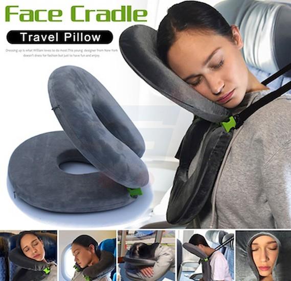 Portable Foldable U-shape Travel Pillow