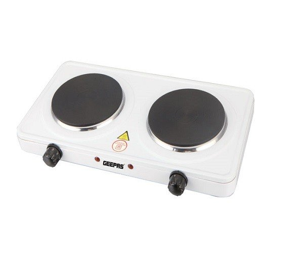 Geepas GHP32014 Electric Double Hotplate