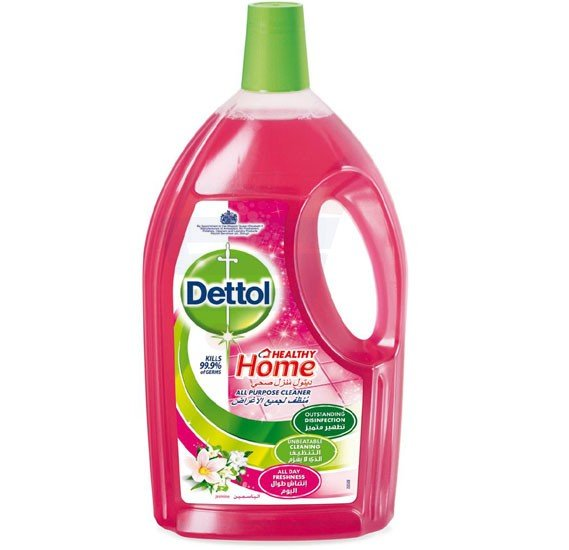Dettol Healthy Home Jasmine Fragrance All Purpose 4 in 1 Multi Action Cleaner 1.8 L