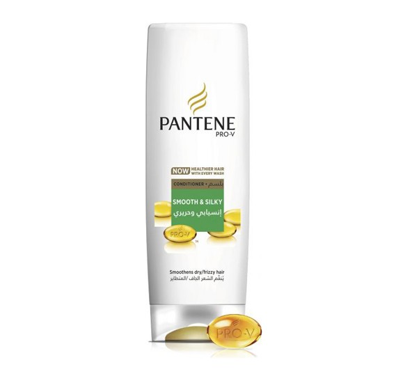Pantene Pro-V Smooth & Silky Conditioner 360 ml,23099
