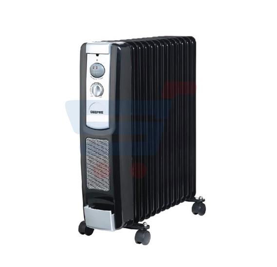 Geepas 13 Fins Oil Filled Radiator Heater, GRH9102 With Fan