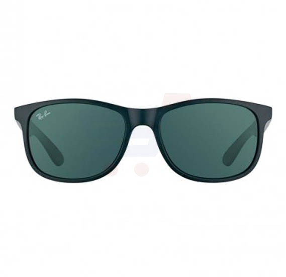 9eae2616233 Buy Ray-Ban Square Black Frame   Green Classic Mirrored Sunglasses For Men  - RB4202-606971-55 Online Dubai