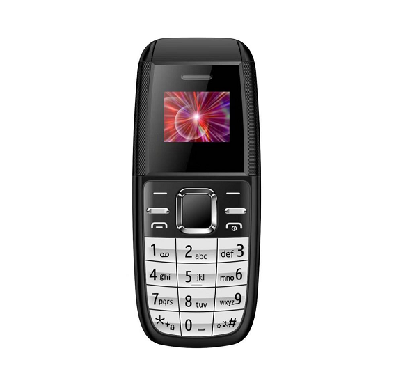 BM200 Mini Mobile Phone with Micro SD Card Slot, Bluetooth Black