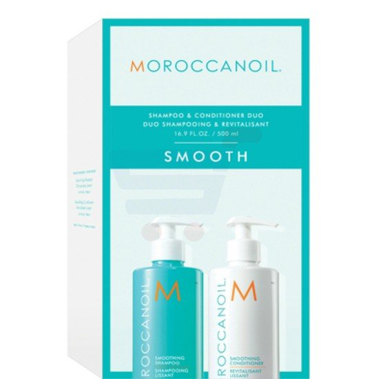 Moroccanoil Smoothing Shampoo with Conditioner Duo 2X500ML