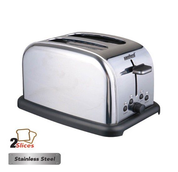Sanford SF5744BT BS Bread Toaster 2 Slice,850-1050W