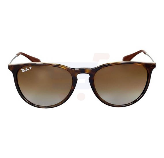 Ray-Ban Polarized Brown Gradient Frame & Brown Gradient Mirrored Sunglasses For Women - RB4171-710-T5-54