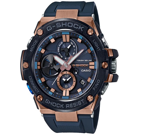 Casio G-shock Steel Analog Watch, GST-B100G-2ADR