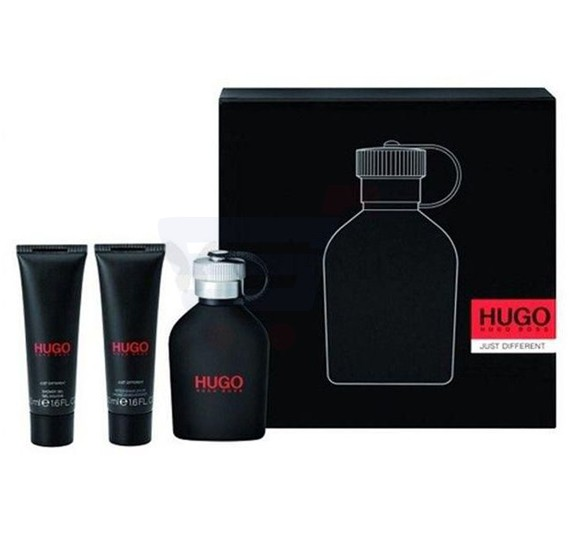Hugo Boss Just Different Travel Set EDT 150ml, After Shave Balm 50ml and Shower Gel 50ml