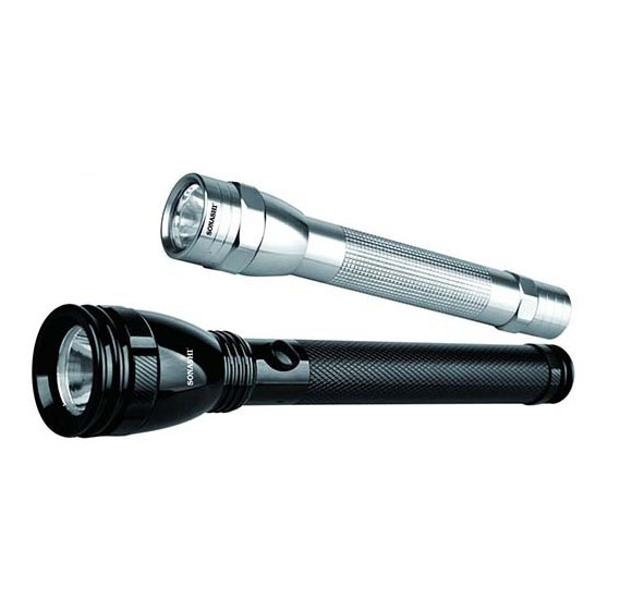 Sonashi SLT-2811 Led Torch, 2pcs Combo Pack, Water Proof