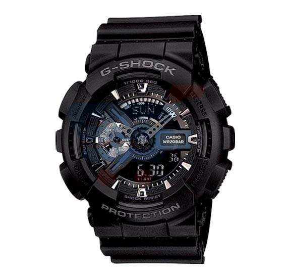 Casio G-Shock Analog /Digital Watch For Men, Black-GA-110-1BDR