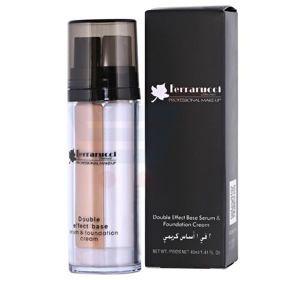 Ferrarucci Double Effect Base Serum and Foundation Cream 40ml, FDF04