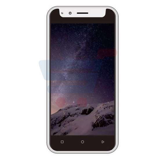 Lenosed N8 Smartphone, Android, 5.0 Inch FW Display, 1GB RAM, 8GB Storage, Dual Camera, Silver