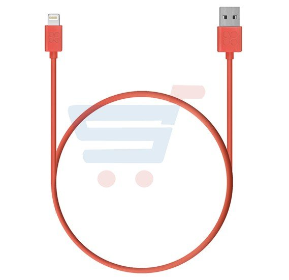 Promate Lightning to USB Cable 1.2M Charge and Sync Cable for iPhone 7, 7 Plus, 6s, 6splus, iPad, iPod, LINKMATE-LT.PEACH