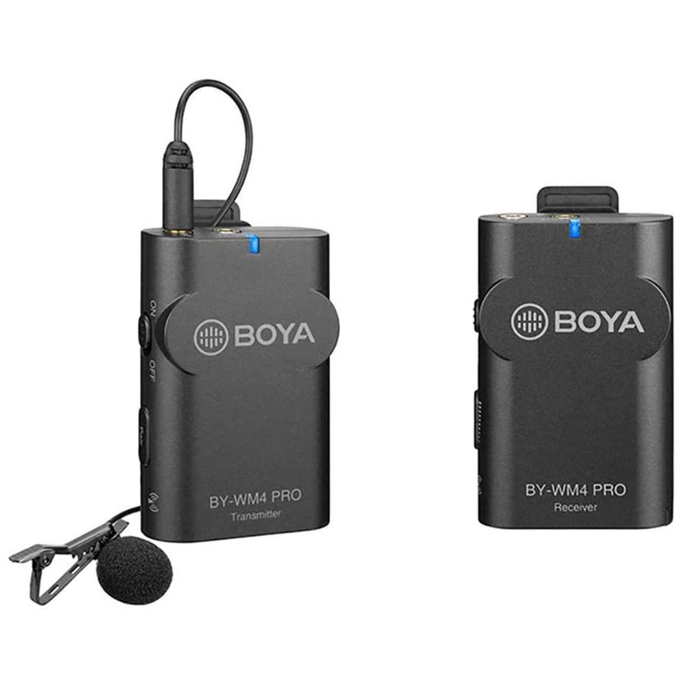Boya BY-WM4 Pro- Portable 2.4G Wireless Microphone