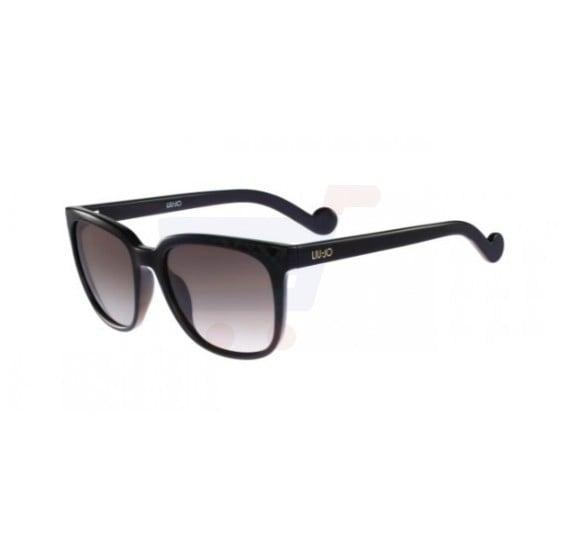 Liu Jo Oval Black Frame & Grey Black Mirrored Sunglasses For Woman - LJ637S-001