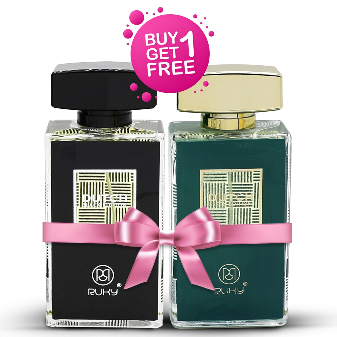 Ruky Perfumes Buy 1 Get 1 Eid Offer, Buy Dutch Green and Get Dutch Black