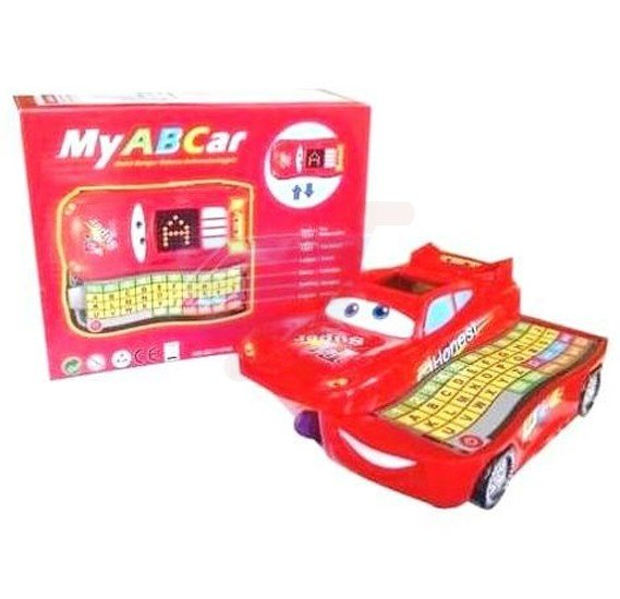 My ABC Car Child to learn english and arabic, QAR F1