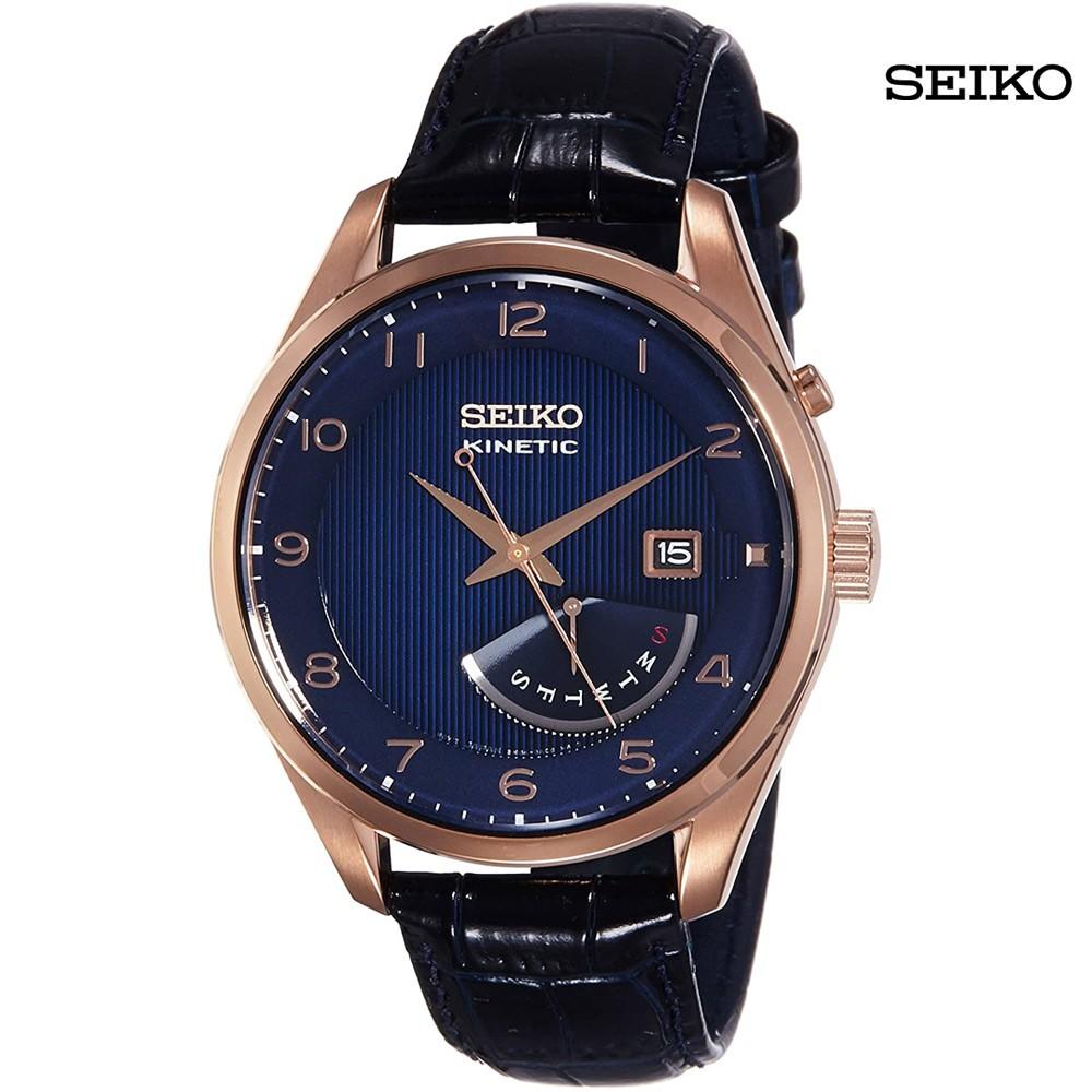Seiko Men Analog Blue Dial Watch, SRN062P1