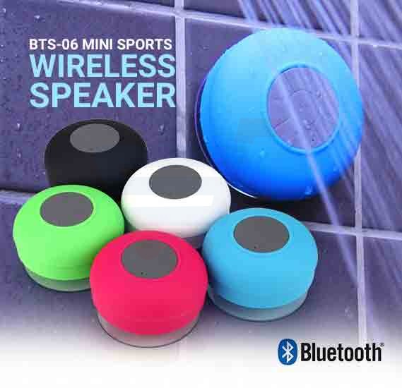 BTS-06 Bluetooth Wireless Mini Water Proof Sports Speaker