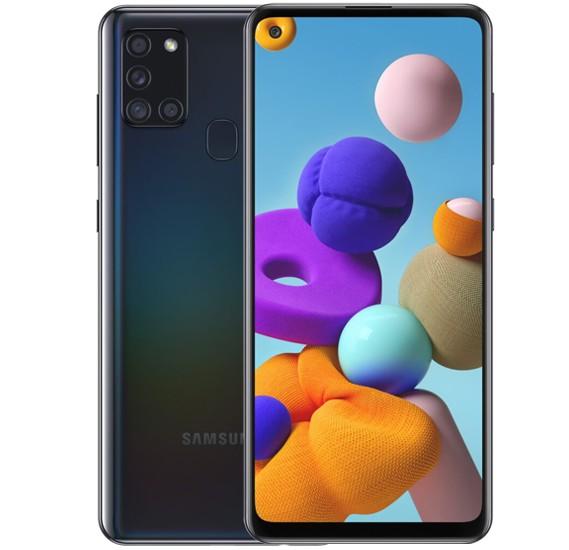 Samsung Galaxy A21s Dual Sim 4GB RAM 64GB 4G LTE - Black